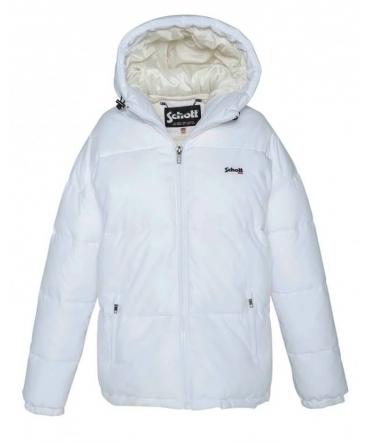 Doudoune  Schott  JKT ALASKA W Blanc