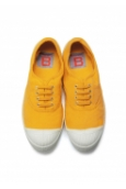 Bensimon Tennis à lacets citron