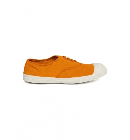 Bensimon Tennis à Lacets Orange