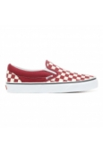 Vans CLASSIC SLIP-ON (Checkerboard) Rumba Red A38F7VLW