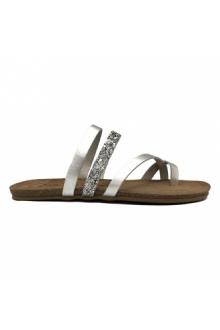 AMOA sandales lorgues ARGENT