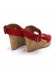 Chattawak sandales 7-LADY Rouge
