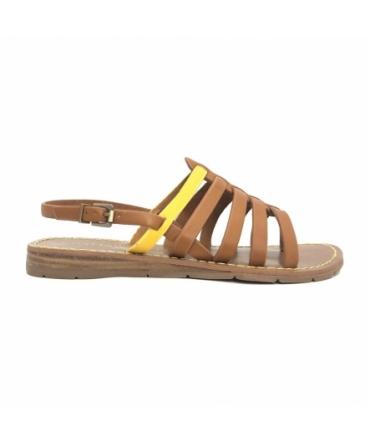 Chattawak sandales 7-SHIRLEY Camel/Jaune