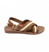 Chattawak sandales 7-TIFFANY Camel