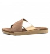NGY sandales ANNY Laminado Cipria