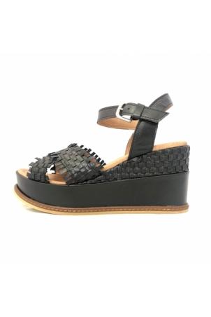 NGY sandales SOLENA Metal Noir