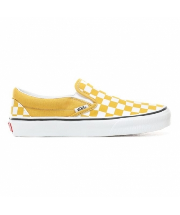 Vans CLASSIC SLIP-ON (Checkerboard) Yolk yellow A38F7VLY