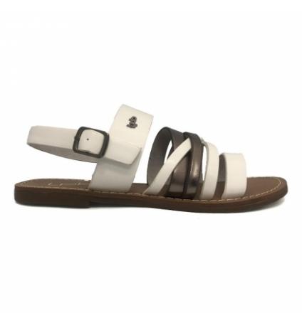 Sandales LPB Rachel Blanc