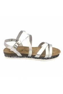AMOA sandales MIMOSAS Argent