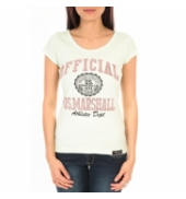T-shirt US Marshall vert clair F.T110