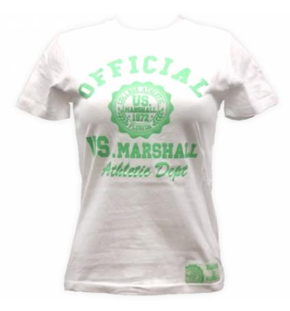 T-shirt US Marshall Blanc florida