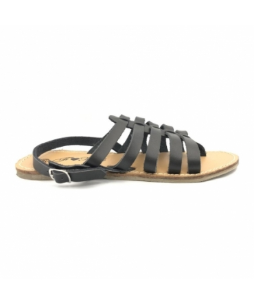 Sandales à lanières noires