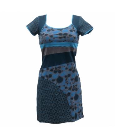 Robe Bamboo's Fashion Bleu