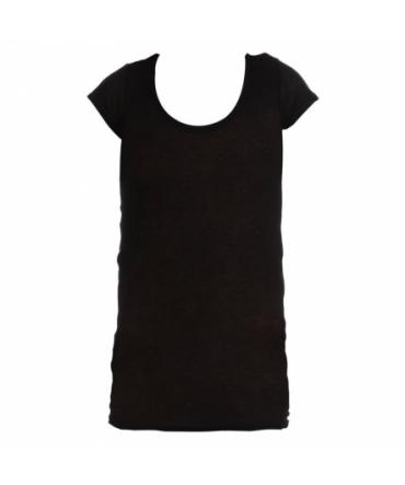 T-shirt Basic American Vintage Carbone MAS01