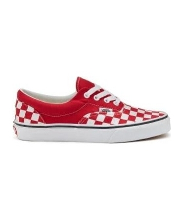 Vans era (checkerboard) racing red