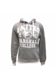 Sweat US MARSHAEL Gris Blanc