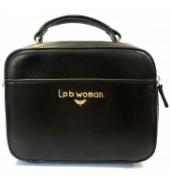 LPB Woman Sac à main avec anse noir W19B0303