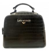 LPB Woman sac bi matière noir