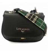 LPB Woman sac à main bride motifs écossais W19B0201