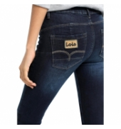 Lois pantalon denim blue lua push up 206782960