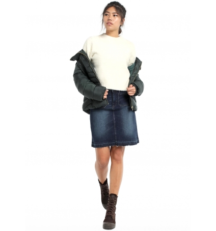 Lois  Jupe falda denim blue spade elle 410082909