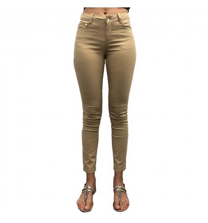 Les Petites bombes Pantalon Regular Lina Beige