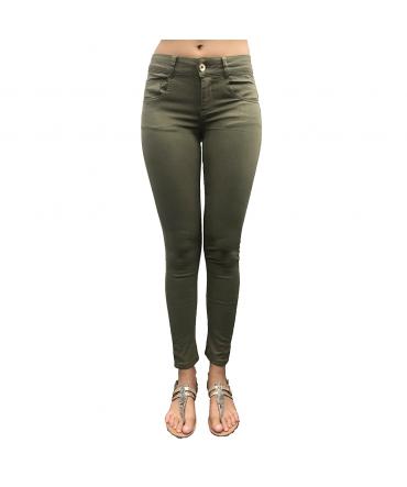 Les Petites bombes Pantalon Skinny Kaki W19V1401