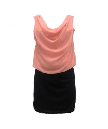 Robe Noir Rose Coco Giulia 0Y-019