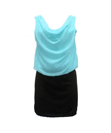 Robe Noir Vert Coco Giulia 0Y-019
