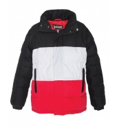 Doudoune  Schott  NEBRASKA W Black White Red