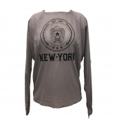 Charlie Joe Top New york Est 1967  Taupe