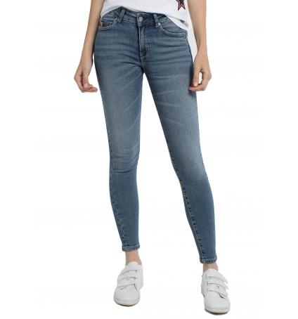 Lois Jean denim Blue-Lue Ankle High 960