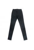Jeans bleu foncé en coton