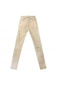 Jeans marron clair en coton