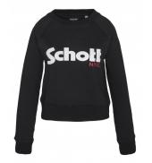 Schott Sweatshirt SW GINGER 1 W Noir