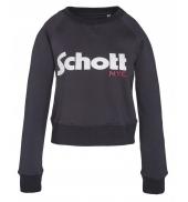 Schott Sweatshirt SW GINGER 1 W Marine