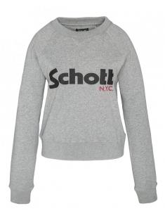Schott Sweatshirt SW GINGER 1 W HEATHER GREY