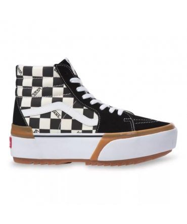 Vans SK8-HI STACKED  White multi VN0A4BTWVLV1