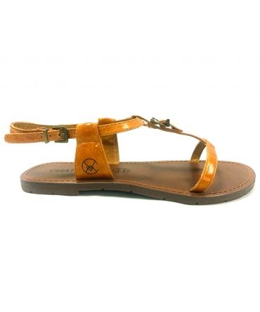CHATTAWAK Sandale 9-ZHOE Jaune