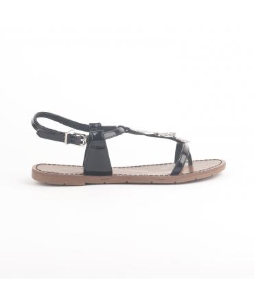 CHATTAWAK  Sandale  9-PIPA Noir