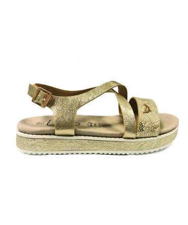 LPB sandale MARIA doré S20MARIA