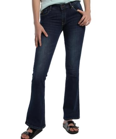 Lois jeans coty flare kesade bleu 206832086