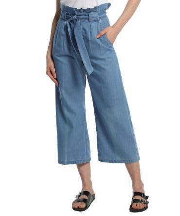 Lois pantalon cinturon dael jinx bleu clair 206902042
