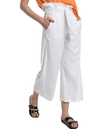 Lois pantalon cinturon dael jinx blanc 206902042