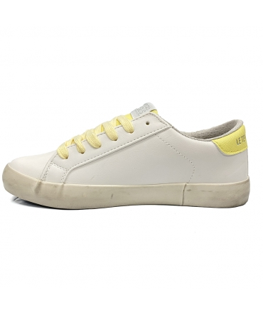 Le Temps des Cerises Baskets cityE20 Silver Yellow