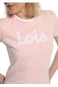 LOIS T Shirt Rose 420472094