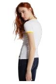 LOIS T Shirt Blanc 420472094