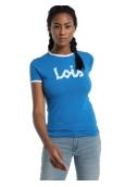 LOIS T Shirt Bleu 420472094