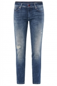 Jeans Push Up Wonder Capri à trous 123762