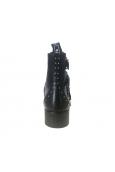 Les petites bombes chaussures Quadri noir